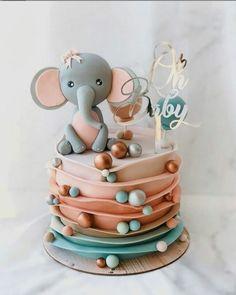 Baby Cakes, Baby Shower Cakes, Baby Birthday Cakes, Baby Shower Themes, Cupcake Cakes, Beautiful Birthday Cakes, Beautiful Cakes, Amazing Cakes, Pretty Cakes