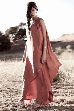 Badly love this dress.. Id love it more if it was black.. /  Winter Kate Kamala Dress in Burnt Ochre