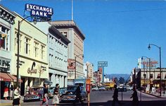 Santa Rosa California, way back when