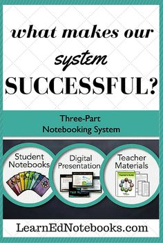LearnEd Notebooks are successful in the science classroom because of the three parts that work as one streamlined process. Each student receives 9 unit notebooks complete with vocabulary, bell ringers, guided notes, writing assignments, and more. The teacher materials provide pacing guides, quizzes, tests, and answer keys. The instructional presentations are accessed online and synchronize perfectly with the student notebooks. Science Diagrams, Pacing Guide, Bell Ringers, Writing Assignments, Teacher Notebook, Teaching Methods, Science Classroom, Toolbox, Classroom Management