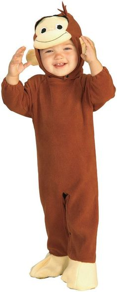 toddler costume: curious george