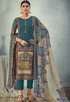 #Cotton #fabric is the #best #fabric in any #weathers, cotton #salwar #kameez is the best choice for any #girls or #womens, #Nikvik is the #bestseller of cotton salwar #suits in #USA #AUSTRALIA #CANADA #UAE #UK Cotton Salwar Kameez, Salwar Suits, Teal Blue Color, Pakistani Suits, Cotton Pants, Printed Cotton, Pure Products, Uae, Festivals
