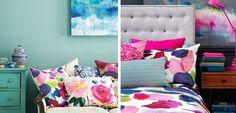 Os traemos una forma vistosa y barata de #decorar tu #casa. Utiliza #textiles al agua para dar a tu hogar un toque nuevo y colorido.