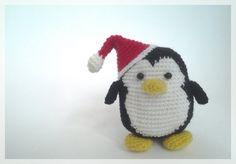 Christmas Penguin amigurumi