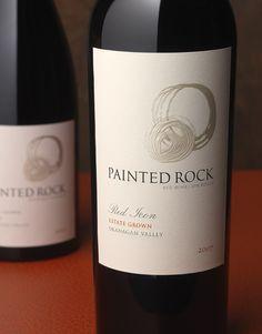 Painted Rock Wine Painted Rock Estate Winery Wine Label & Package Design Okanagan Canada