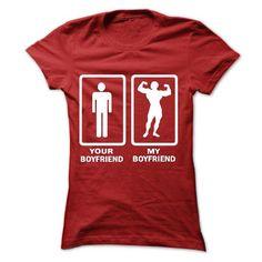 MY BOYFRIEND FUNNY shirt ah T Shirts, Hoodies. Check price ==► https://www.sunfrog.com/LifeStyle/MY-BOYFRIEND-FUNNY-shirt--ah-Ladies.html?41382