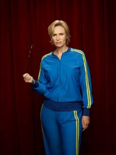 Sue Sylvester...sometimes i really dislike her but then other times she makes me laugh histarically