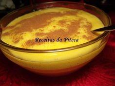 Receita Mousse de laranja, de Receitasdapiteca - Petitchef Portuguese Desserts, Portuguese Recipes, Other Recipes, Sweet Recipes, Flan, Desserts Around The World, Savory Tart, Pudding Recipes, Creative Food