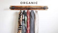 House plans Scarf rack Organic closet storage Belt rack Scarf hanger Buying Petite Clothing Made Eas Clothes Hanger Storage, Scarf Storage, Closet Storage, Clothing Storage, Clothes Racks, Pantry Storage, Storage Rack, Diy Clothes, Scarf Rack