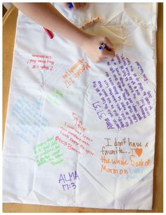 Personal Progress: Good Works Service Project-pillowcases with YW's favorite scriptures written on it sent to missionaries