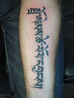 Sanskrit by eliq-tattoo on deviantART