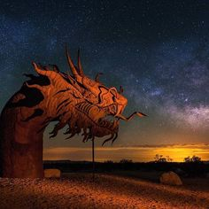 It's that time of year again where the milky way galaxy is visible in the northern hemisphere! But what I'm more excited about is that in 2 months I'll be traveling to Iceland. Hopefully I'll get some milky way galaxy shots there and also  northern light all in one frame!!!   Anyways, here's an old milky way galaxy photo with the mighty serpent of Borrego Springs.  Who's ready for Milky way season!?
