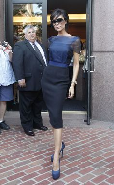 Victoria Beckham at Day 2 of Boston American Idol Auditions