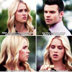 "#TheOriginals 2x22 ""Ashes to Ashes"" - Rebekah and Elijah"