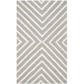 8' sq. Found it at AllModern - Christa Silver & Ivory Area Rug