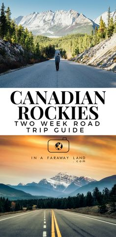 Canada is the definition of a road trip country. This perfect 2 week road trip itinerary outlines the route across the most famous national parks in the Canadian Rockies. #Canada #Roadtrip #RockyMountains