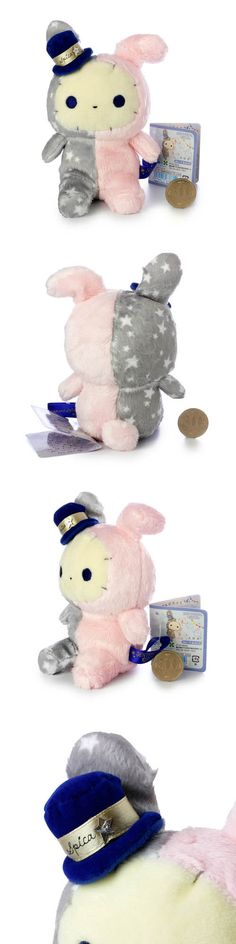 San-X Sentimental Circus shappo Starlight Classic Bunny plush doll 15 cm height gray (S)