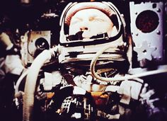 John Glenn: 'The Rocket Legend' / #AllAmerican #humble #servantleader #statesman @nasa   We were on the frontier. Everything was uncharted territory. Nothing was certain. We began to push incredible speeds. Where we going? What were we going to do with the technology we were creating? Who would pilot the craft? Life and death hung in the balance each time.  and to the spirit of just men made perfect..  Hebrews 12:23b  John Glenn was a man of quiet composure and reflection with anability to…