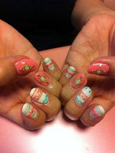 aztec nail - Nail Art Gallery