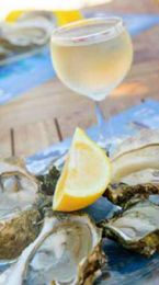 Recipe: Oyster Margarita Shooters Ingredients 6 Pcs Malpeque Oysters (Cleaned and shucked) 1 Ounce Tequila (the good stuff) 1 ½ Ounce Simple Syrup (1:1) ¾ Ounce    Lime Juice (Fresh squeezed) 1 Lime (Cut into small wedges for garnishing) 1 Lime Zest (Very Fine) 1 Tbsp Kosher Salt 1 Tbsp Sugar Directions  Mix the tequila simple syrup, lime juice and half the lime zest in a small bowl and set aside. Mix the sugar salt and the rest of the lime zest in another small bowl and set aside Make six…