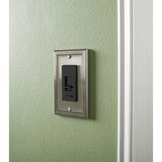 Lowes Wall Plates Hampton Bay Architectural Decorative Single Switch Plate Satin