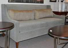 Slate Grey Candice Olson Sofa Found At Design With Consignment In Austin,  Tx. DWConsignment