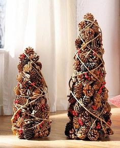 Pine Cones #Christmas Tree