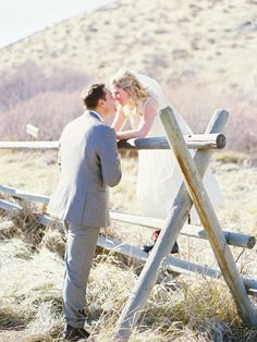 Idaho Wedding from Amelia Johnson Photography  Read more - http://www.stylemepretty.com/2013/06/12/idaho-wedding-from-amelia-johnson-photography/