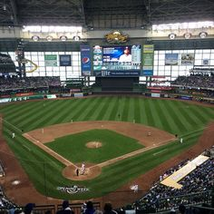 April 4 2016 Opening Day At Miller Park The Home Of The