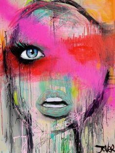 """Saatchi Art Artist Loui Jover; Painting, """"diva"""" #art"""