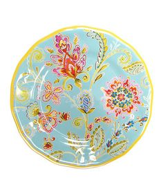 Loving this Provence Melamine Salad Plate - Set of Four on #zulily! #zulilyfinds