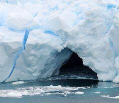 antarctica, iceberg caves