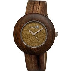 Earth Wood Ligna Watch (Olive) - Brought to you by Avarsha.com