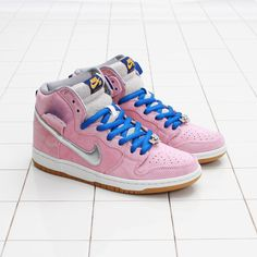 "Ladies: CNCPTS / Nike SB x Concepts ""When Pigs Fly"" Dunk High Premium (Real Pink)"