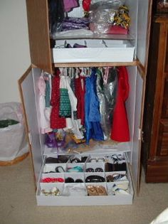 DIY Doll Clothes Cab