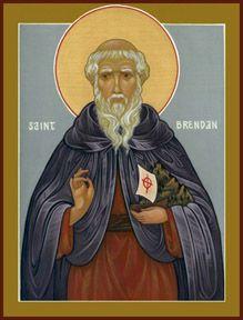 St. Brendan, Medieval Monastic Saint