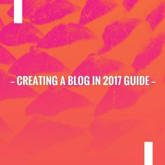 Take a look at my blogpost, folks👇 Creating a Blog in 2017 Guide https://how-to-earn-extra-money-from-home.com/creating-a-blog-in-2017-guide?utm_campaign=crowdfire&utm_content=crowdfire&utm_medium=social&utm_source=pinterest