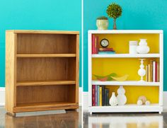 Bookcase make-over