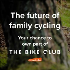 We launched this morning on Crowdcube and we're already over 67% funded  📣🙌 You can invest as little as £10, so why not head over to the link in our bio to find out more  👀😃 Join us in raising the next generation of cyclists. Let's create a more sustainable future together 🚲🌍 Capital at risk. Let's Create, Cyclists, Raising, How To Find Out, Join, Let It Be, Future, Future Tense