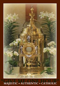 Jesus we adore You in Your Sacrament of LOVE!