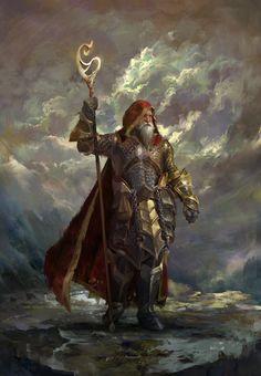 """Wizard of December"" by Emilis Emka : Fantasy Dnd Wizard, Fantasy Wizard, Fantasy Armor, Medieval Fantasy, Fantasy Character Design, Character Design Inspiration, Character Art, Dnd Characters, Fantasy Characters"