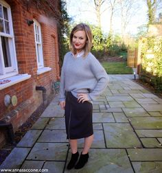 Anna Saccone Christmas outfit 2014/2015