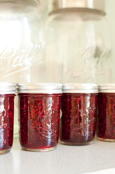 Tayberry Raspberry Lemon Jam | What to do with all those lemons!