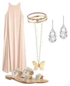 """""""take me to church🙏🏼"""" by daisyhenson on Polyvore featuring Jack Rogers, Kate Spade, Juicy Couture, Plukka and Sydney Evan"""