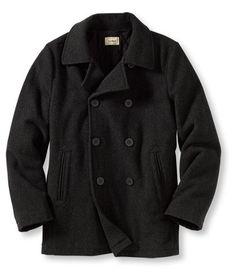 11c4a8547c5 Men s Heritage Wool Pea Coat