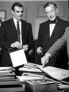 James Bond and his creator