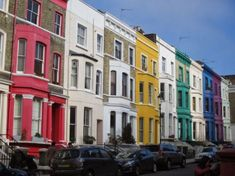A place for pictures and photographs. Notting Hill London, London City, Rainbow House, Beautiful London, Voyage Europe, London Calling, London Travel, Where To Go, England