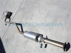 Used 2013 Honda Accord EXHAUST MUFFLER  18307-T2F-A01 18307T2FA01. Purchase from https://ahparts.com/buy-used/2013-Honda-Accord-EXHAUST-MUFFLER-18307-T2F-A01-18307T2FA01/109637-1?utm_source=pinterest
