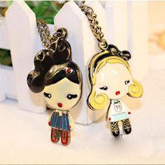 Alloy-cute-curly-girls-necklace-jewelry-fashion-enamel-jewelry-for-girls.jpg (388×388)