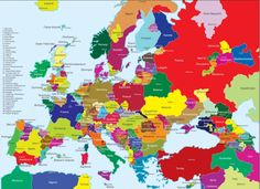 A map of Europe's separatist movements - http://bambinoides.com/a-map-of-europes-separatist-movements/